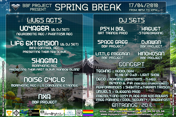 17/04/2010 SPRING BREAK - BOOMBASS FANTASIA PROJECT