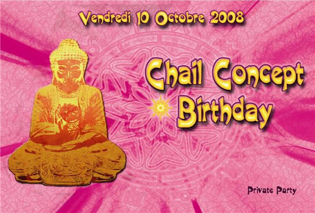 10/10/2008 : BIRTHDAY CHAIL CONCEPT