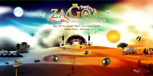 May 30th to June 03rd 2012 - ZAGOA FESTIVAL - Morroco